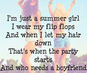 summer, girl, and party image