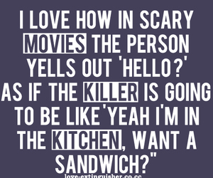 scary quotes, famous scary quotes, and tumblr scary quotes' image