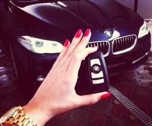 bmw, car, and nails image