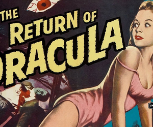 Dracula, retro, and vintage movie poster image
