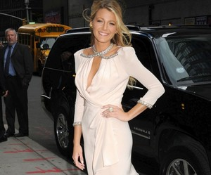 blake lively, dress, and fashion image