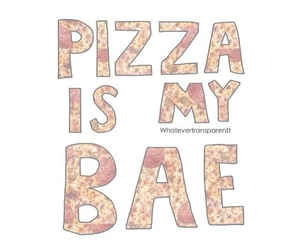 pizza, bae, and food image