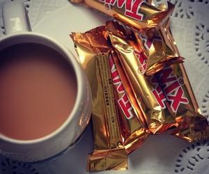 Twix, chocolate, and food image
