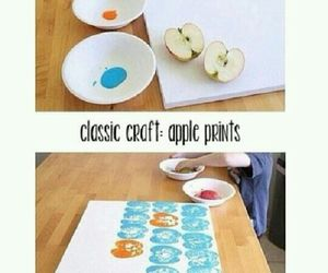 apple, drawing, and painting image