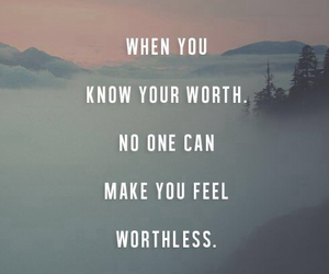 inspirational, quotes, and what you're worth image