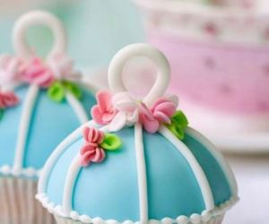 cupcake, cake, and food image