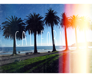 california, summer, and let's escape image