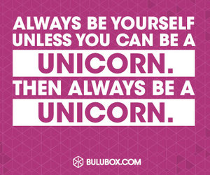 unicorn, funny, and quotes image