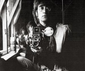 1967, Rolleiflex, and johnlennon image