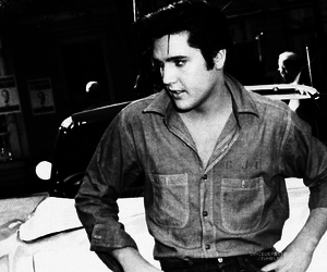 1950s, dude, and elvis image