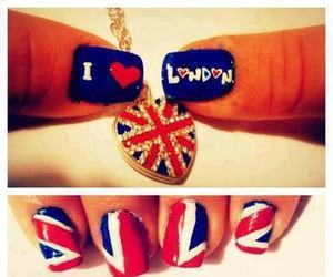 nails, london, and heart image