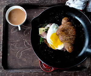 breakfast, coffee, and morning image