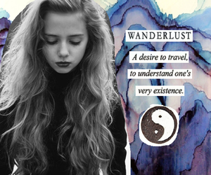 girl, wanderlust, and Collage image