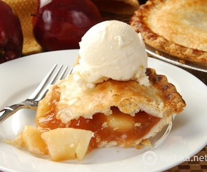 food, Apple Pie, and pie image