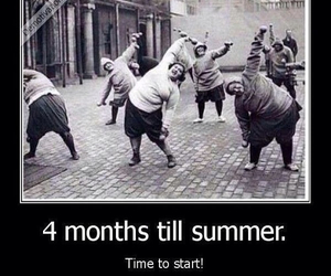 summer, funny, and fat image