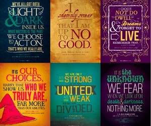 harry potter, quote, and book image
