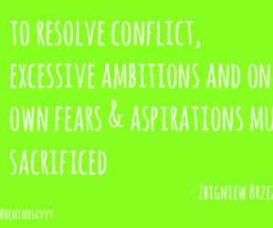 fearless, bemindsavvy, and resolveconflict image