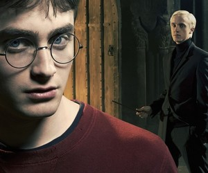 yaoi, drarry, and harry image