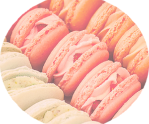 colors, pink, and delicious image