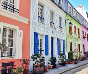 colorful and paris image