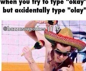 Harry Styles, one direction, and olay image