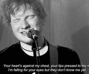 ed sheeran, kiss me, and song image