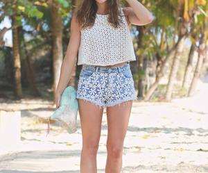 beach, denim, and Dream image