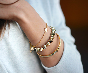 accessories, bracelet, and clothing image