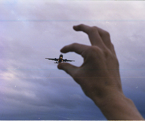 catching, hand, and sky image