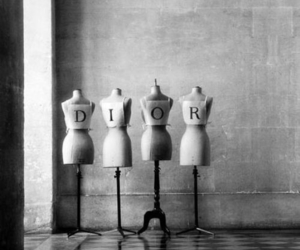 dior, fashion, and black and white image