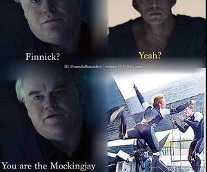 mockingjay, finnick odair, and finnick image