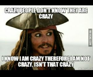 crazy, funny, and quotes image
