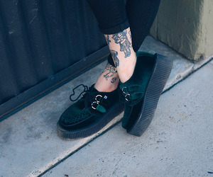 creepers and tattoo image