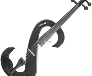 electric, instrument, and music image