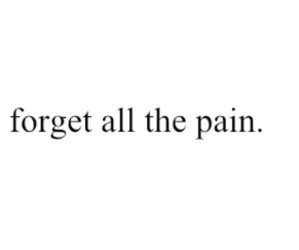 pain, quote, and sadness image