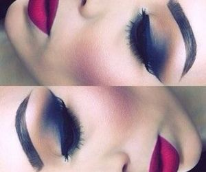 beautiful, make up, and fashion image