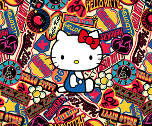 hello, kitty, and love image
