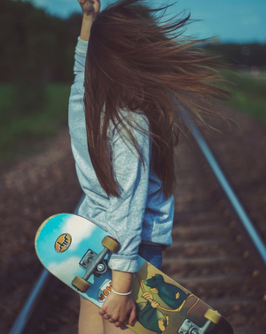 hipster, skate, and teen image