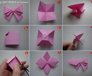 bow, falten, and origami image