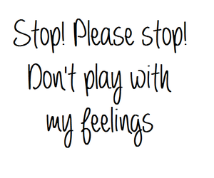 feelings, play, and quote image