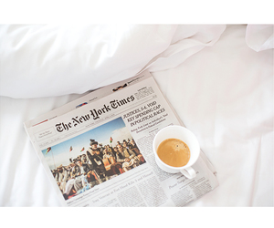 coffee, new york times, and The New York Times image
