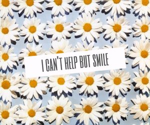 daisy, quote, and smile image