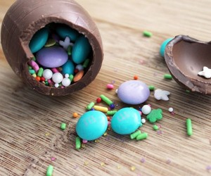 chocolate, easter, and egg image