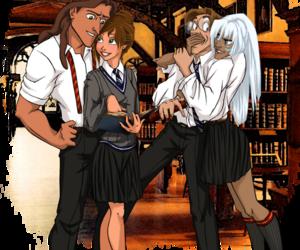 disney, tarzan, and hogwarts image