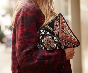 fashion, style, and clutch image