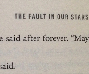 john green, tfios, and the fault in our stars image