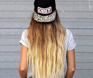 hair, obey, and girl image