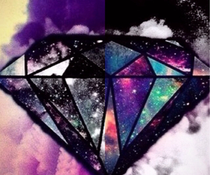 colour, diamond, and fly image