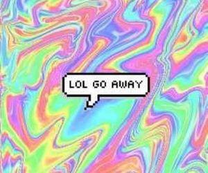 grunge, lol, and away image