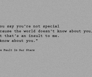 quote, john green, and the fault in our stars image
